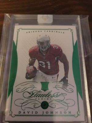Flawless David Johnson Rookie Emerald Football Card for Sale in Renton, WA