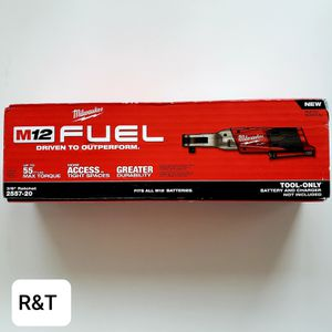 Milwaukee M12 FUEL 12-Volt Lithium-Ion Brushless Cordless 3/8 in. Ratchet (Tool-Only) for Sale in Fullerton, CA