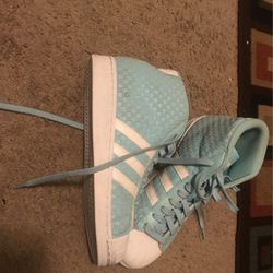 Blue Shell Adidas Size 8 for Sale in Silver Spring, MD