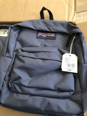 JANSPORT BACKPACKS BRAND NEW COLOR DEEP GREY ASKING $22 FIRM NO LESS EACH for Sale in South Gate, CA