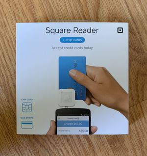 New/Sealed Square Reader + Chip Cards for Sale in Lakeville, MN