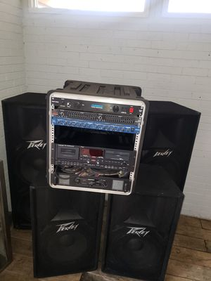 DJ equipment, ready to throw a party!! for Sale in Addison, IL