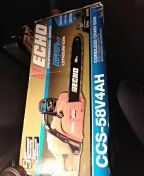 Echo cordless chain saw new open box for Sale in Pittsburgh, PA