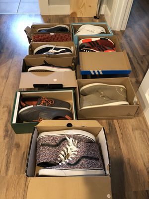 Vans, Nike, Adidas, Penguin, Creative Recreation, Size 10.5 and Size 11 for Sale in Bend, OR