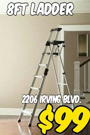 8ft ladder for Sale in Dallas, TX