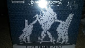 Pokemon Trading Card burning Shadows Elite Trainer Box for Sale in Clovis, CA