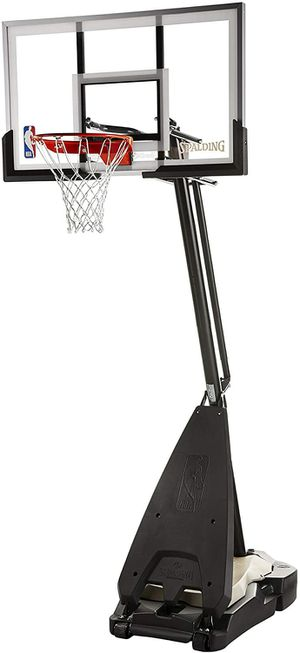 *Brand New* Spalding Ultimate Hybrid 54 inch Acrylic Portable Basketball Hoop for Sale in Dublin, OH