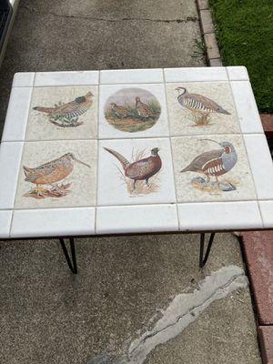 Vintage tile side table for Sale in San Francisco, CA