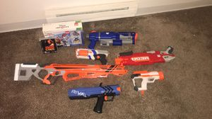 Nerf guns and games for Sale in Federal Way, WA