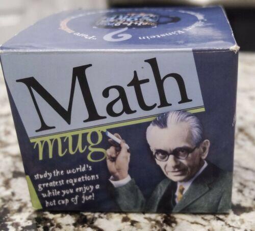 The Unemployed Philosophers Guild Einstein Math Equations Ceramic Mug- New