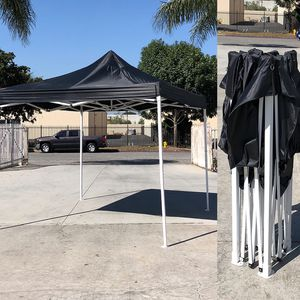 $100 New In Box Heavy-Duty 10x10 ft Canopy Pop Up Tent Instant Shade Carry Bag Rope Stake for Sale in Los Angeles, CA