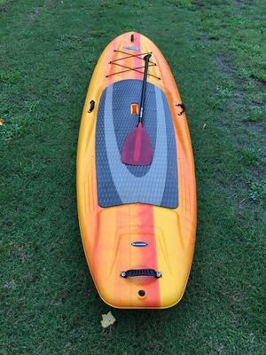 10' 6 Pelican Ramx paddle board with no limit adjustable paddle for Sale in Seneca, SC