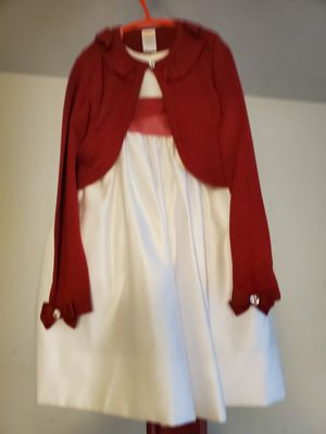 Beautiful party dress & red sweater for Sale in Puyallup, WA
