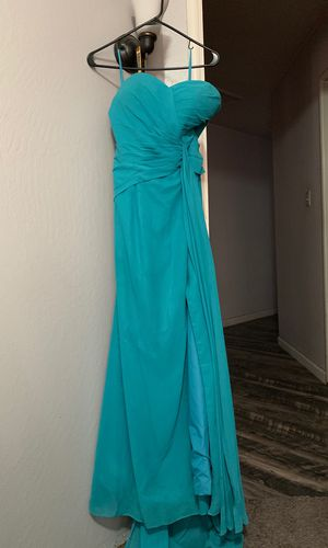 Turquoise Prom/ formal dress! for Sale in Union City, CA
