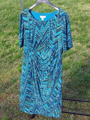 Blue Green black Dress Barn Dress for Sale in Charlotte, NC