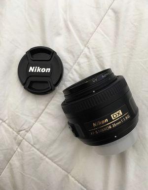 Nikon AF-S DX NIKKOR 35mm f/1.8G Lens for Sale in Riverside, CA