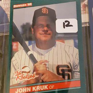 (40) John Kruk Baseball Cards for Sale in Cherry Hill, NJ