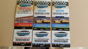 Evergreen Speedway tickets! for Sale in Duvall, WA