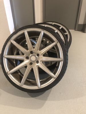 20 inch rims and tires for Sale in Orlando, FL
