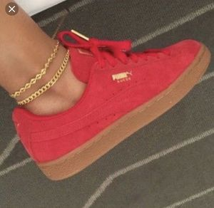 Brand new red suede pumas for Sale in Tampa, FL