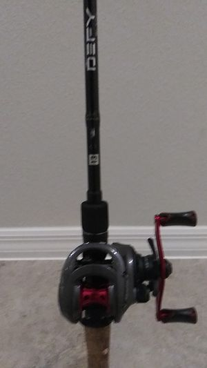13 Fishing rod/ Brand new never used Quantum Pulse 6.6:1 reel. Rod is in good condition guides are not replace or jacked up. for Sale in Ruskin, FL