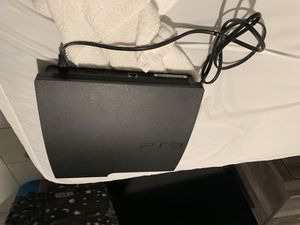 Good condition ps3. Don't have control only power cord cable for tv trade or cash for Sale in Miami, FL