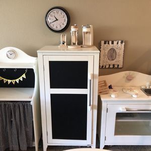 Pottery barn kids solid wood kids play kitchen for Sale in San Diego, CA