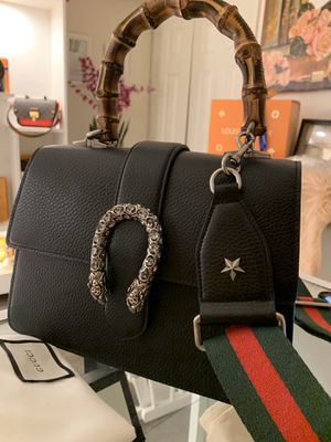 Gucci bag Dionysus small black leather for Sale in PA, US