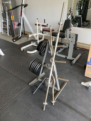 Standard Weight Set and Bars for Sale in Mebane, NC