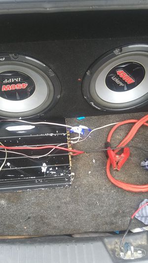 Pioneer 2 12 an amp for Sale in Wenatchee, WA