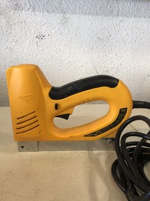 Arrow Electric Staple + Nail Gun for Sale in San Diego, CA