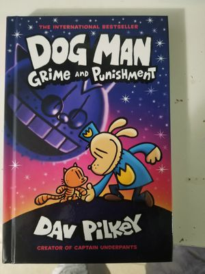 dog man book hard cover for Sale in Long Beach, CA