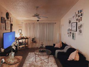 Navy Sofa for Sale in Bay Lake, FL