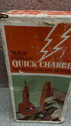New. Quick charge cordless industrial soldering iron for Sale in Downey,  CA