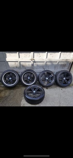 BMW black paint rims for Sale in Brooklyn, NY