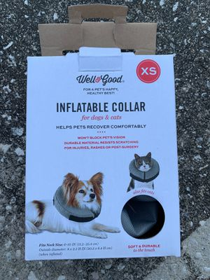 Inflatable collar for dogs and cats for Sale in Palm Harbor, FL