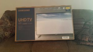 Samsung ultra high definition TV for Sale in Kingsport, TN