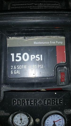 Porter cable. Compresor for Sale in Santa Ana, CA