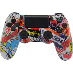 Wireless Ps4 Controller Compatible With Playstation 4 Multicolored for Sale in Fontana,  CA