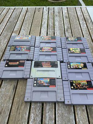 Super Nintendo Console Plus Games for Sale in Miami, FL