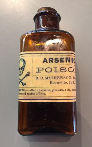 Antique poison bottle with original label, bottle and cork. for Sale in Monroe, WA