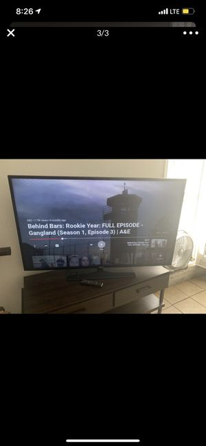 SAMSUNG 50 inch SMART TV for Sale in Long Beach, CA