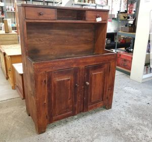 Antique, primitive Dry Sink. Very old cabinet, could be modified to bathroom vanity. Reduced! for Sale in La Mesa, CA