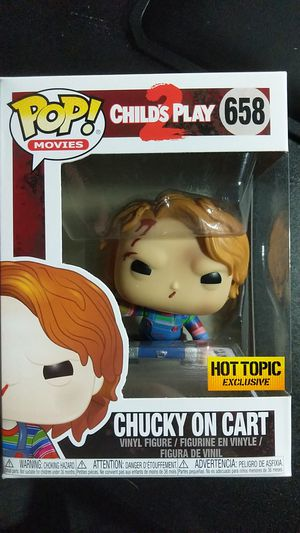 Funko Pop Figure - Chucky on Cart (Hot Topic Exclusive) 658 for Sale in Livermore, CA