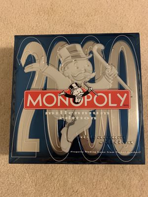 Monopoly 2000 Millennium edition board game for Sale in Cary, NC