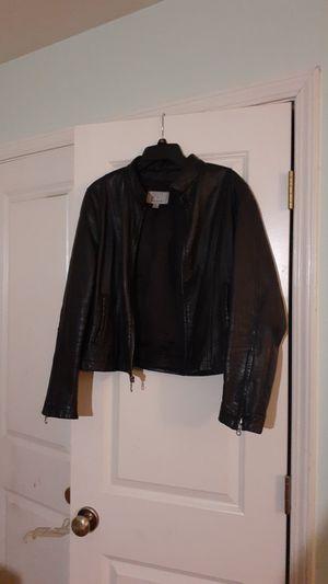 Motorcycle Jacket - Wilson's Leather Maxima 15 yr old REAL LEATHER motorcycle jacket! Size (L) for Sale in Birmingham, AL