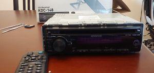 In-dash CD, MP3, WMA receiver car stereo for Sale in Wheaton, MD