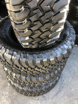 255/75/17 BFGoodRich mud terrain (4 for $280 for Sale in Downey, CA