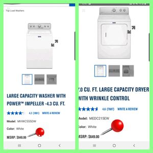 ◇》Maytag《◇ Centennial 👉Excellent 💦Washer 💨Dryer Laundry Set for Sale in Portsmouth, VA