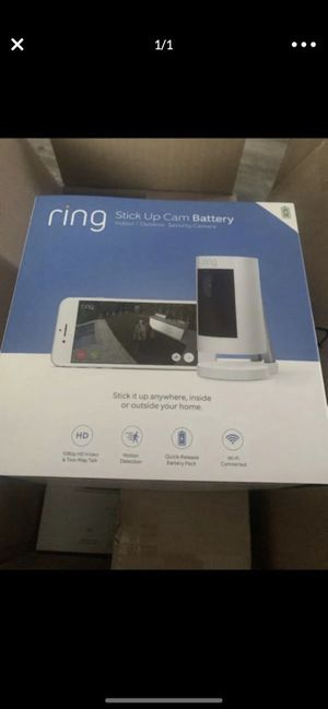 Ring Stick Up Cam Battery for Sale in Glendale, CA